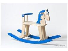 Rocking horse ''Blue''