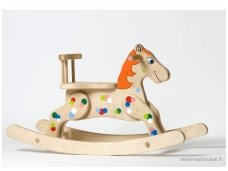 "Rocking horse ""Orange Cloud''"