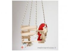 "Wooden swing ""Red Horse"""
