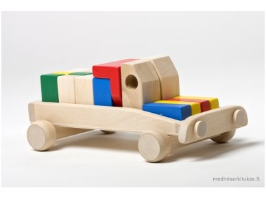 Car With Blocks