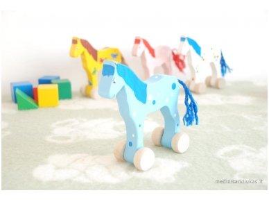 Arkliukas su ratukais melsvas su burbuliukais 5