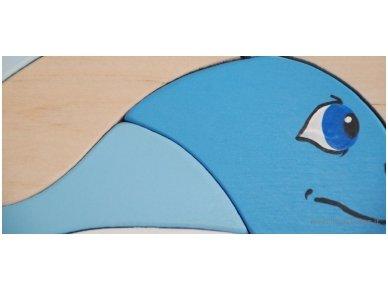 Dėlionė banginukas 5