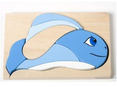 Dėlionė banginukas
