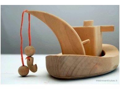 Laivelis su kranu 4