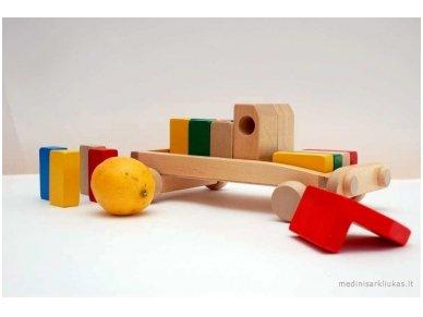 Car With Blocks 6