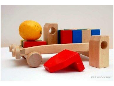 Car With Blocks 5