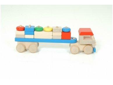 Sunkvežimis su kaladėlėmis 3
