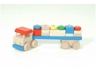 Sunkvežimis su kaladėlėmis 5