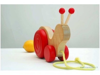 Pull Snail Toy 5