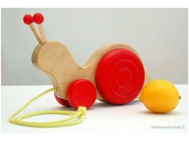 Pull Snail Toy 6