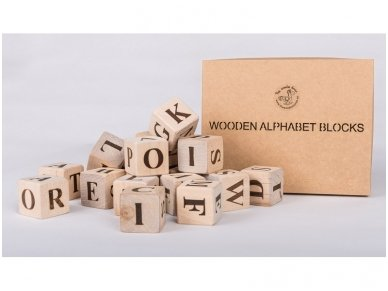 Blocks with english alphabet