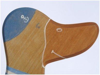 Žąsinas stumdukas, mėlynas 3