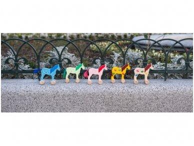 Arkliukas su ratukais Mėlynasis 3