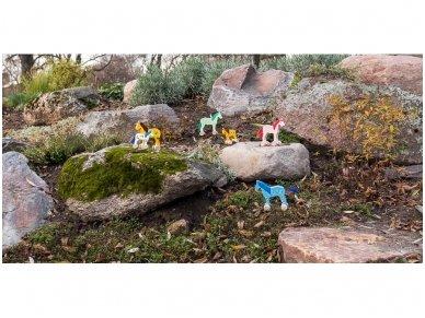 Arkliukas su ratukais Mėlynasis 2