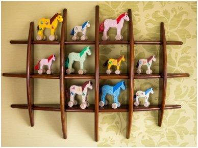 Arkliukas su ratukais Mėlynasis 4