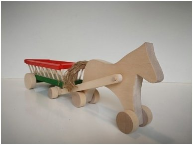 Arklys su vežimu 2