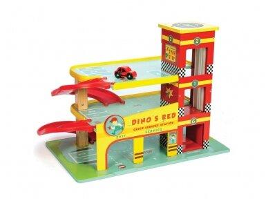 """Automobilių garažas """"Dino's Red"""" 2"""