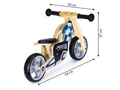 """Balansinis dviratis """"Policininko ratai"""" 3"""