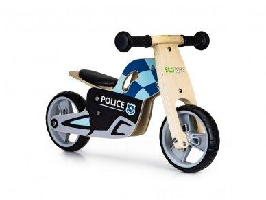 """Balansinis dviratis """"Policininko ratai"""" 4"""