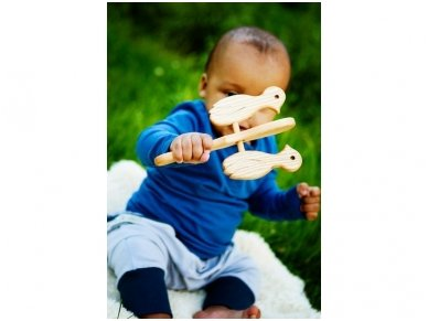 Wooden music rattle woodpeckers 5
