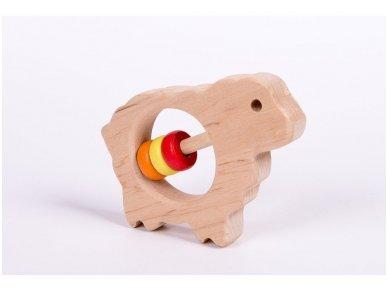 Barškutis-kramtukas avytė 3