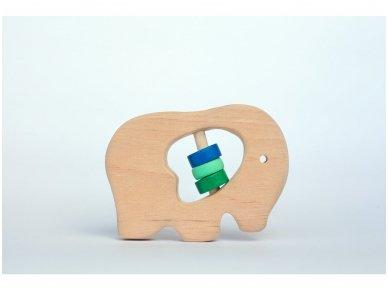 Barškutis-kramtukas drambliukas 2