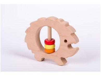 Barškutis-kramtukas ežiukas 2
