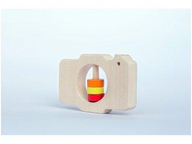 Barškutis-kramtukas fotoaparatas 3