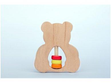 Barškutis-kramtukas meškutis