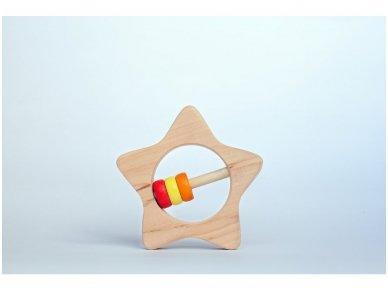 Kramtukas barškutis žvaigždutė