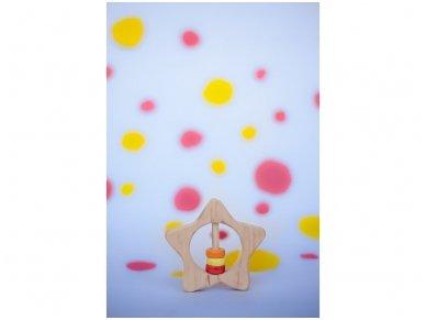 Kramtukas barškutis žvaigždutė 4