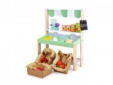 Daržovių parduotuvė - kioskas