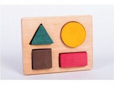Playboard with Geometric Shapes