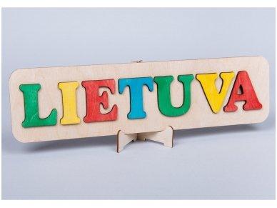Dėlionė Lietuva