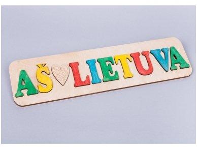 Dėlionė Aš ♥ Lietuva 2