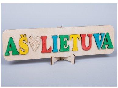 Dėlionė Aš ♥ Lietuva