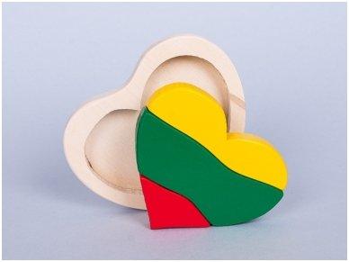 "Puzzle ""Lithuanian flag"" 2"