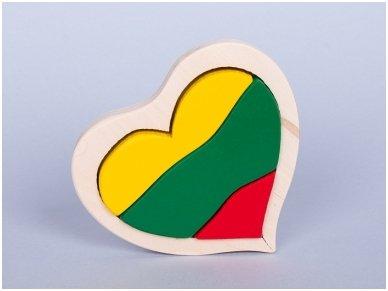 "Puzzle ""Lithuanian flag"""