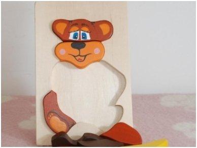 Teddy Bear puzzle 3
