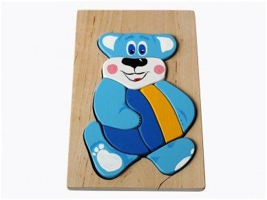 Teddy Bear puzzle 2