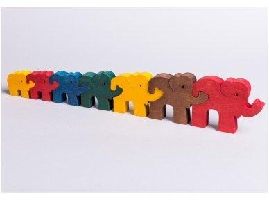 "Puzzle ""Seven Elephants"""