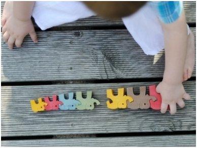 "Puzzle ""Seven Elephants"" 4"