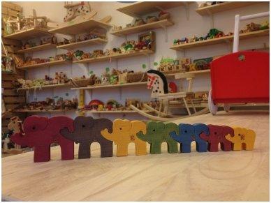 Dėlionė septyni drambliukai 8