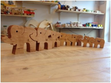 "Puzzle ""Seven Elephants"" 7"