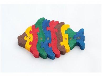 Puzzle ''Numbered Whale'' (Kopija)