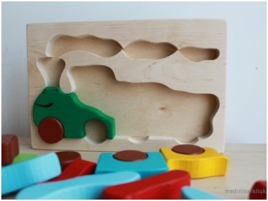 Wooden puzzle ''Train'' 4