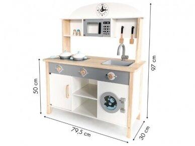 Didelė medinė virtuvėlė 5