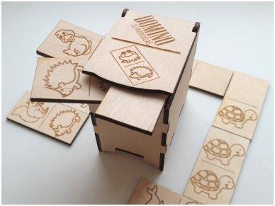 Domino dėžutėje ''Gyvūnai'' 2