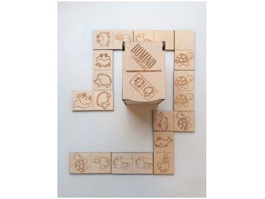 Domino dėžutėje ''Gyvūnai''