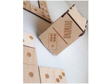 Domino dėžutėje ''Taškeliai'' 2